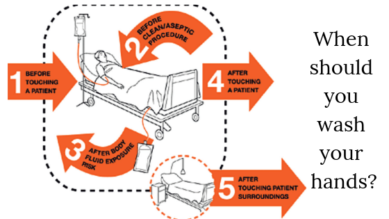 The 5 Moments for Hand Hygiene