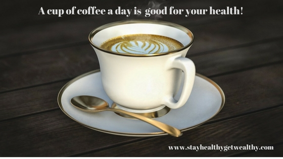 The health benefits of drinking coffee everyday