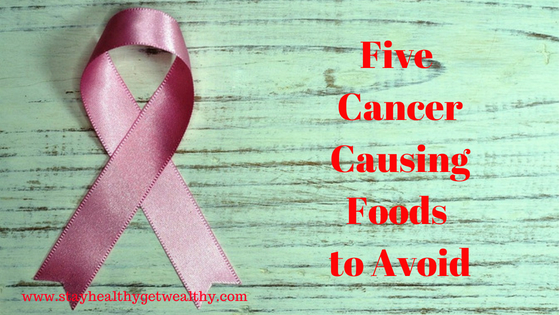 The top 5 cancer causing foods